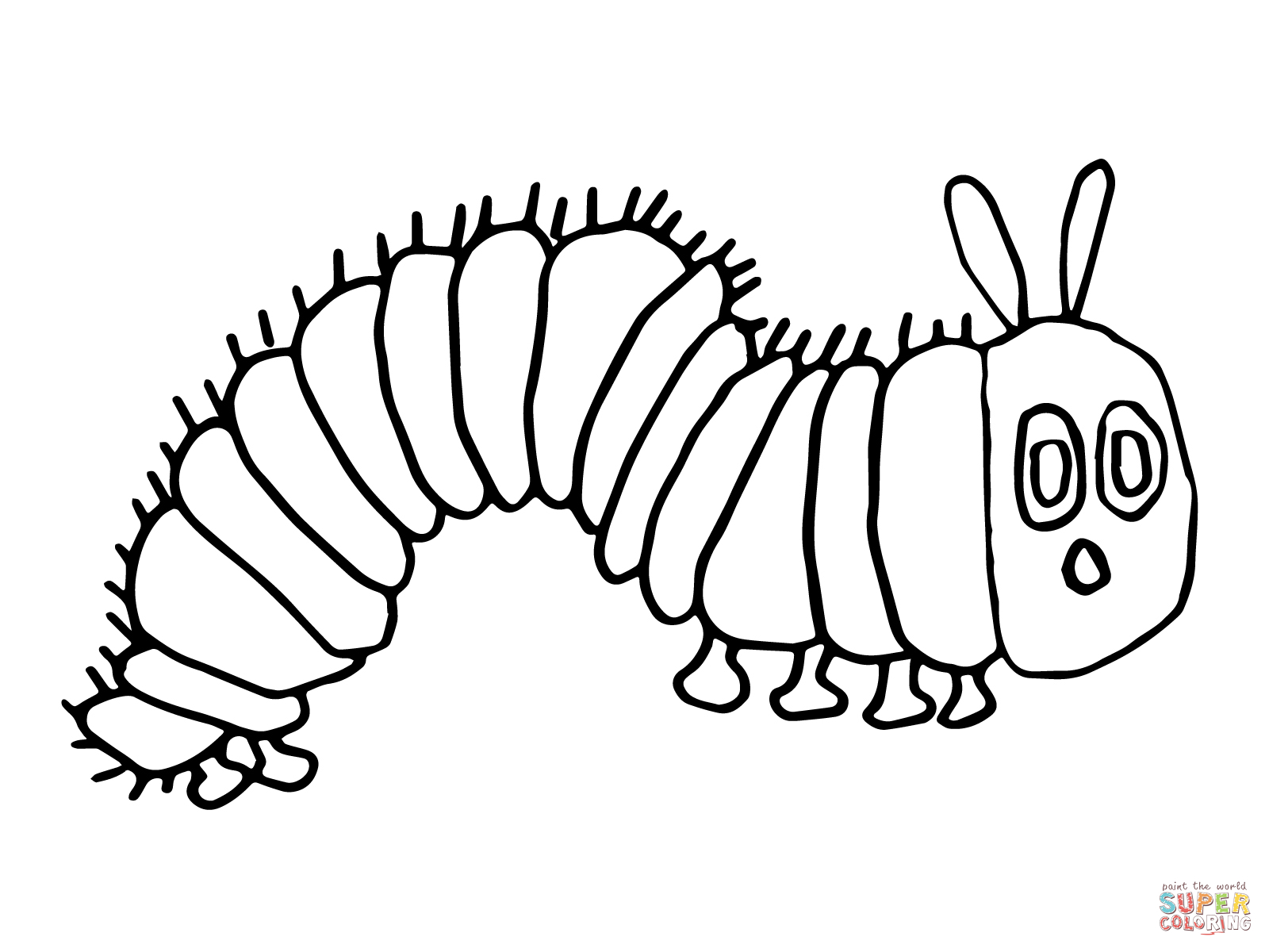 Free Caterpillar Outline Download Free Clip Art Free