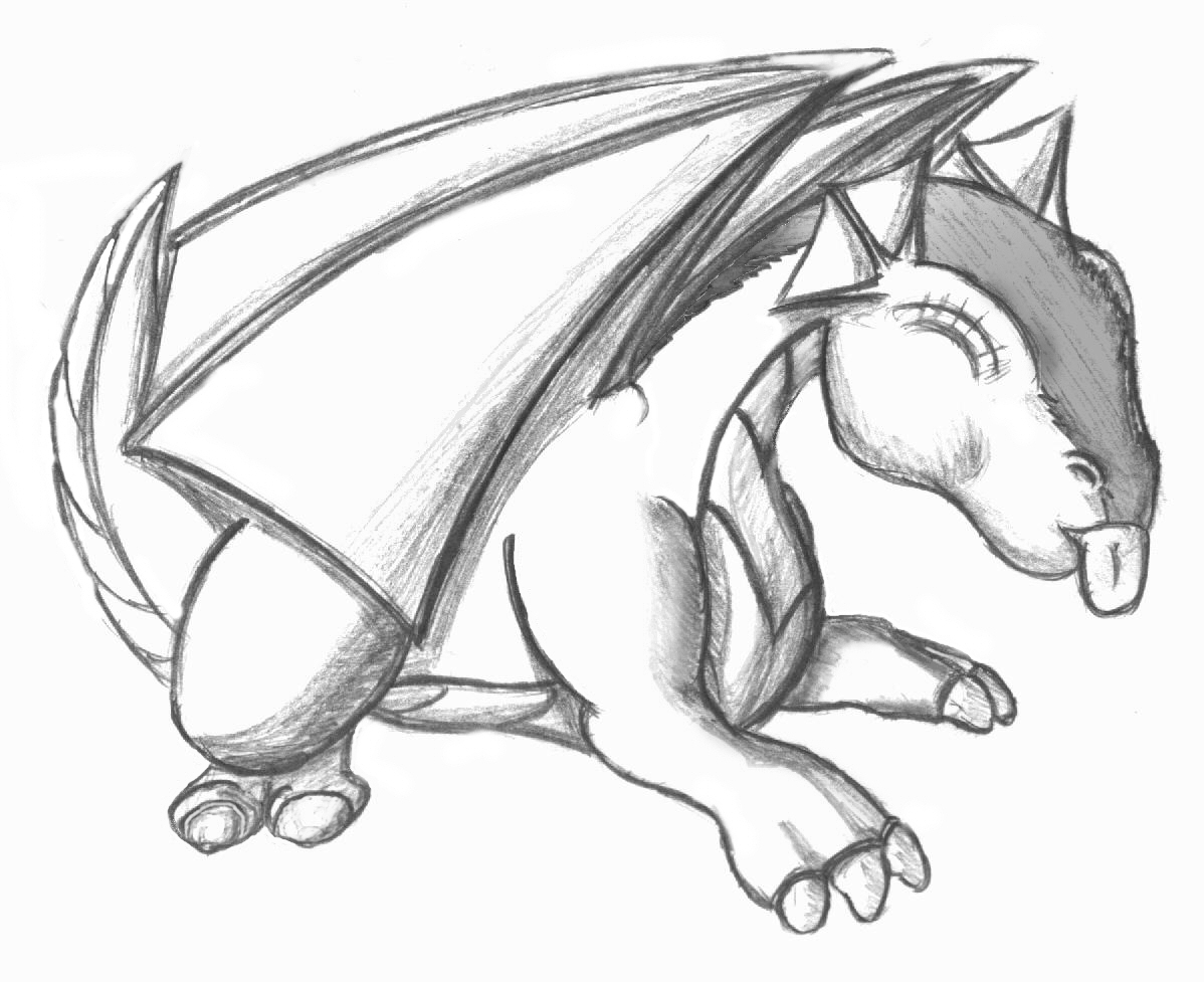 Free Cute Dragon Drawings Download Free Clip Art Free Clip Art On Clipart Library