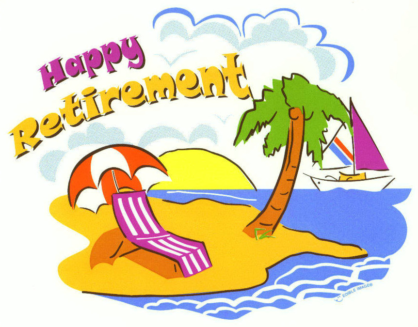Image result for happy retirement woman smile clipart