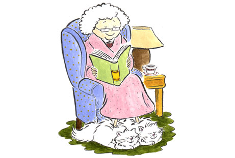 Image gallery for : nice old lady cartoon