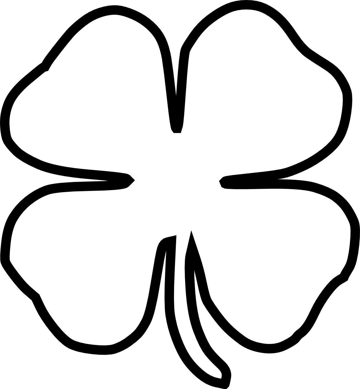 Picture Of A Four Leaf Clover