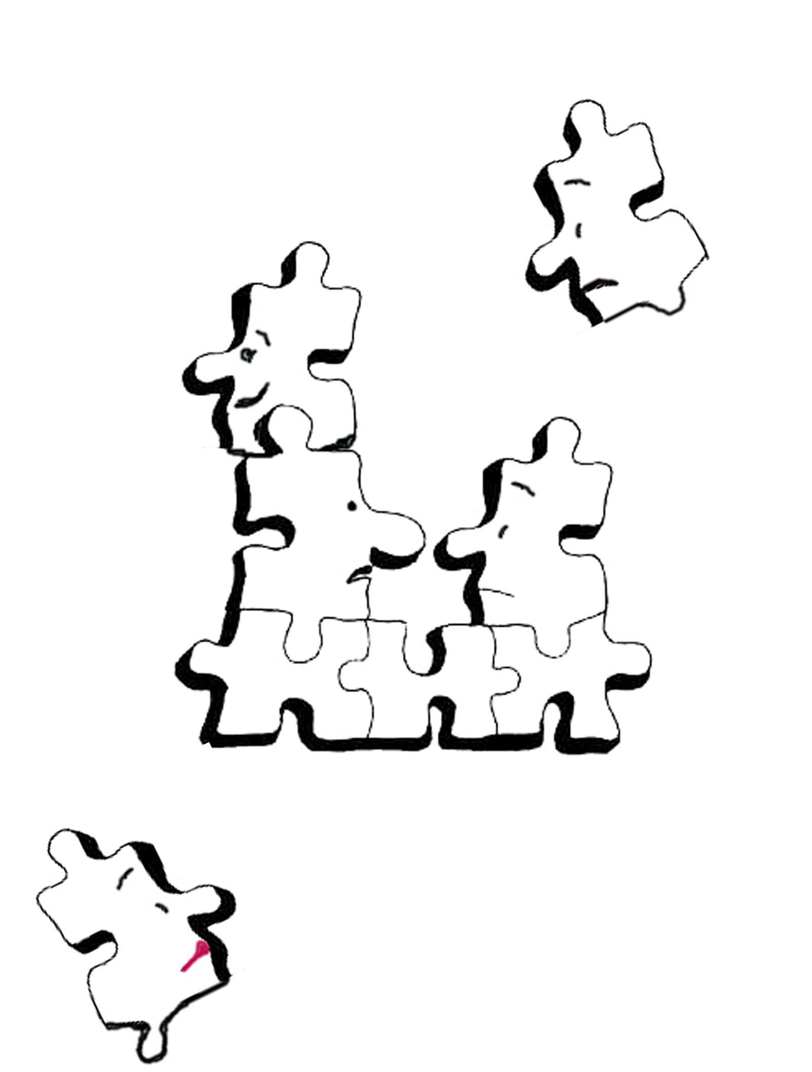 Free Cartoon Puzzle Pieces Download Free Clip Art Free