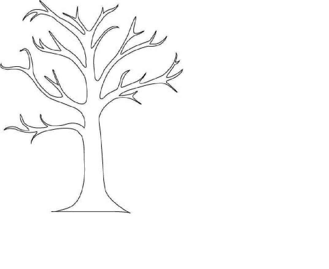 Free Tree Outline Printable Download Free Clip Art Free Clip Art On Clipart Library