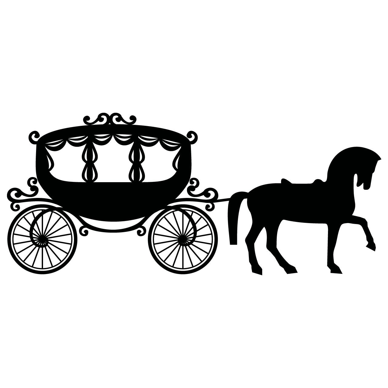 Free Horse And Carriage Clipart Download Free Clip Art