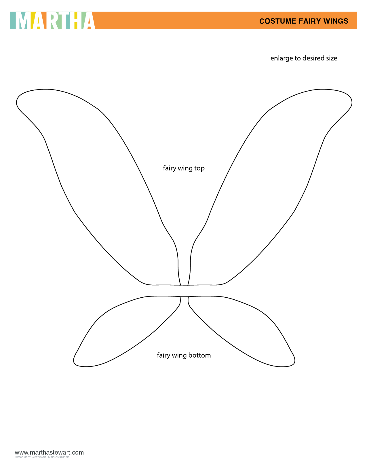 Images For Fairy Wings Template