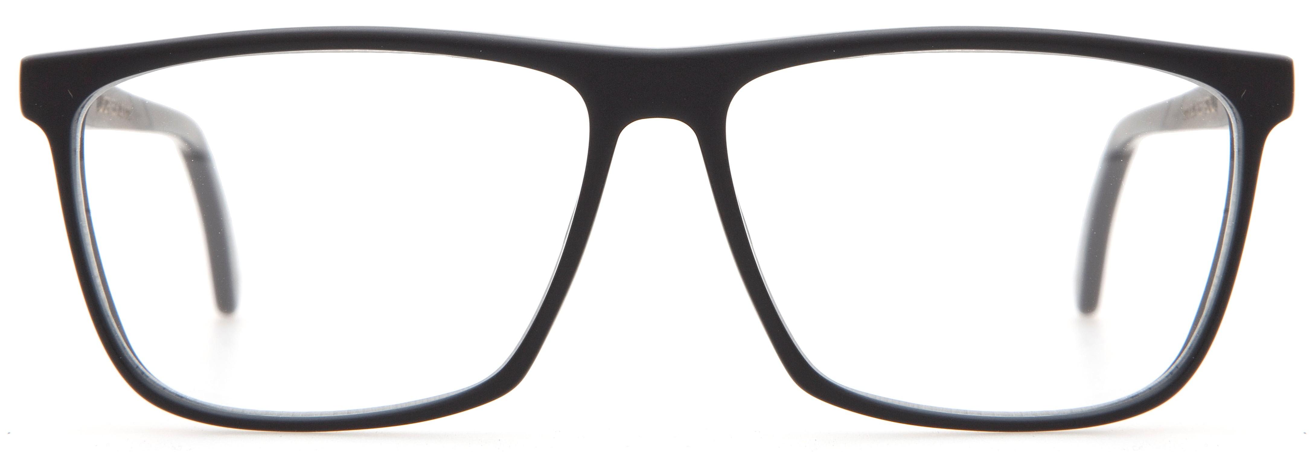 L G R Luxor 22 Matt Black Glasses