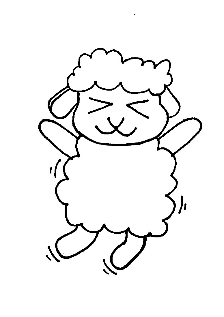 free sheep drawings for kids download free clip art free