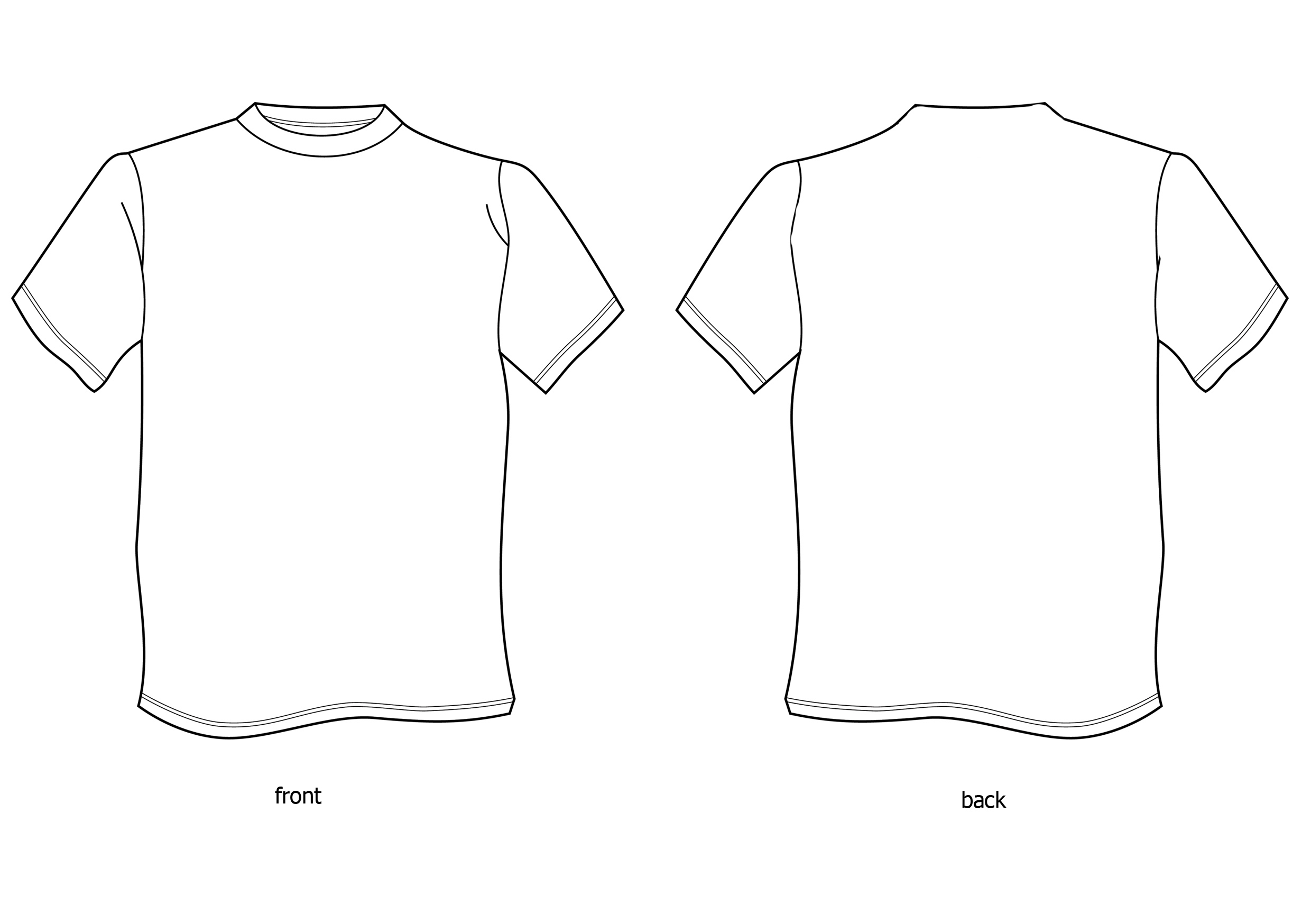 Free Tshirt Template Download Free Clip Art Free Clip Art On Clipart Library