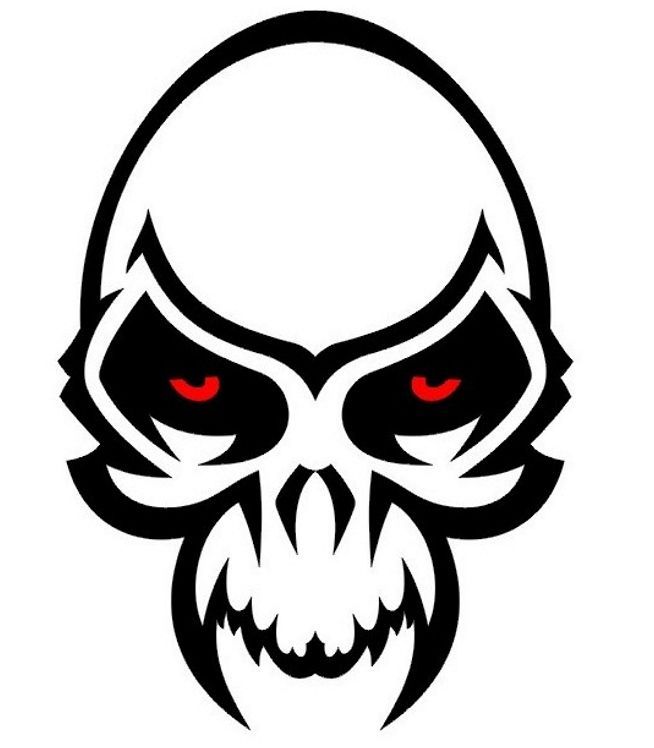 Free Simple Skull Tattoos Designs Download Free Clip Art Free Clip Art On Clipart Library