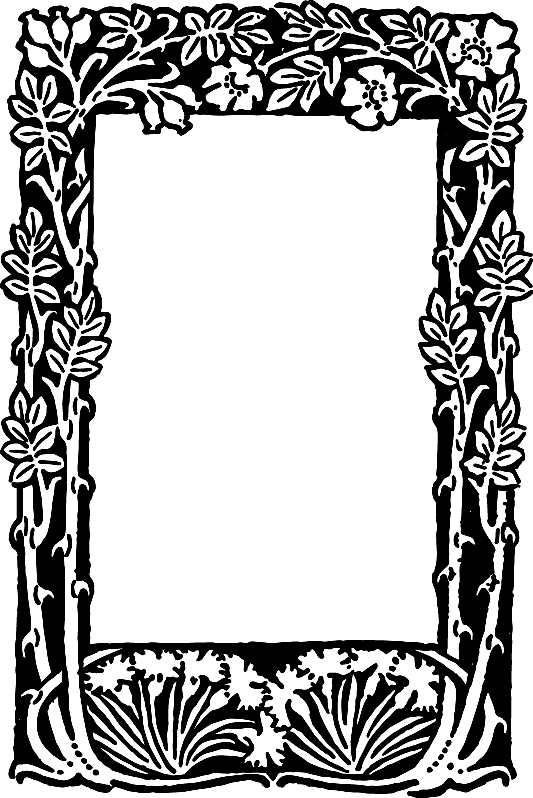 picture relating to Free Printable Borders and Frames Clip Art named Free of charge Letter Borders And Frames