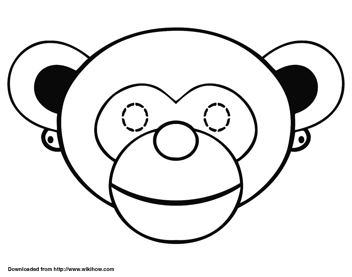 How To Make A Monkey Mask 13 Steps With Pictures