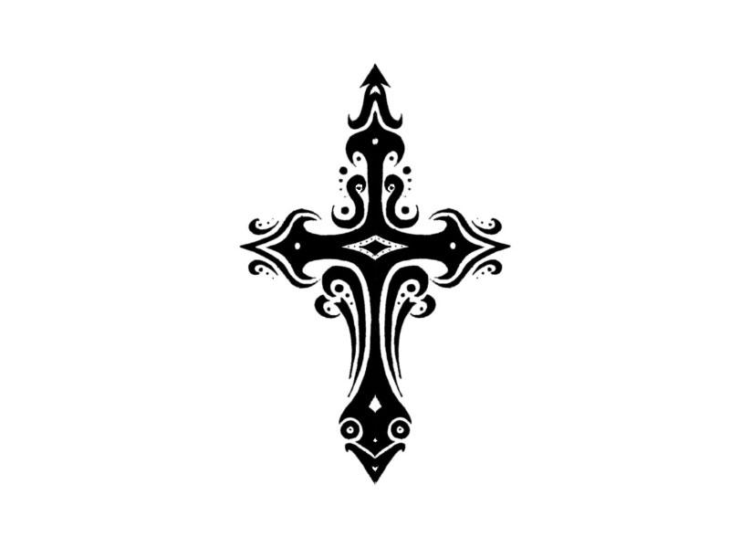 Free Templar Cross Tattoo, Download Free Clip Art, Free