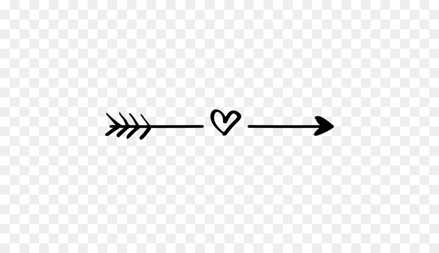 Download Free Arrow With Heart Silhouette, Download Free Clip Art ...