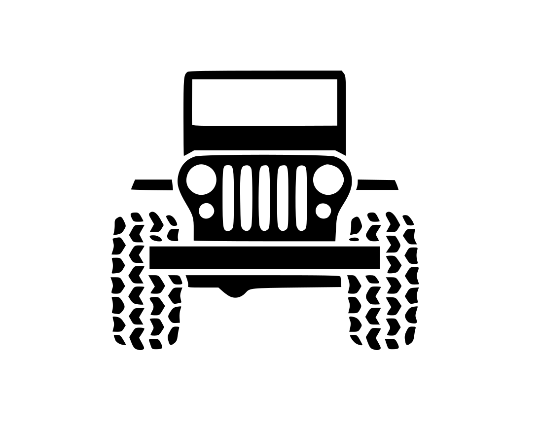 Jeep Wrangler Car Chrysler Decal