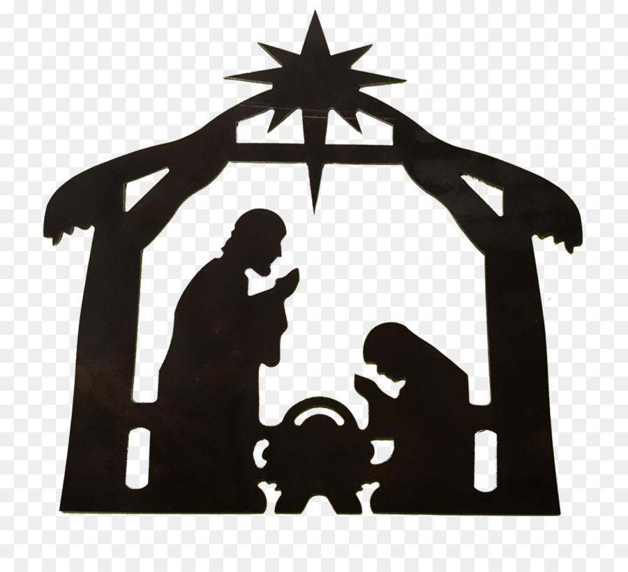 Download Free Nativity Silhouette Svg, Download Free Clip Art, Free ...