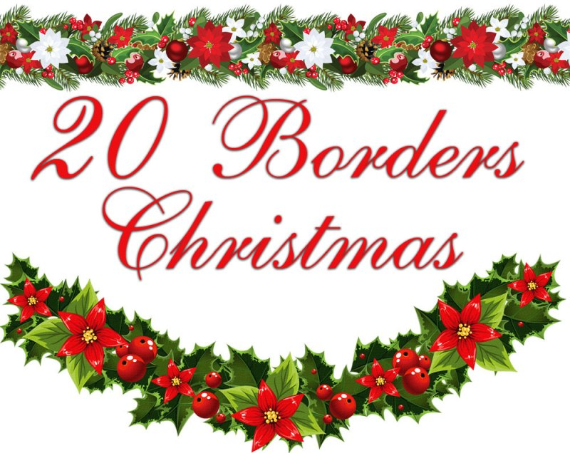 Free Christmas Border Clipart For Microsoft Word Thecannonball Org