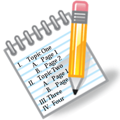Image result for writing outline clipart