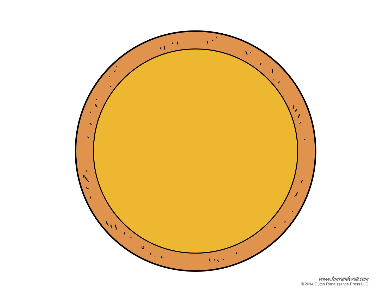 Plain Pizza Cliparts