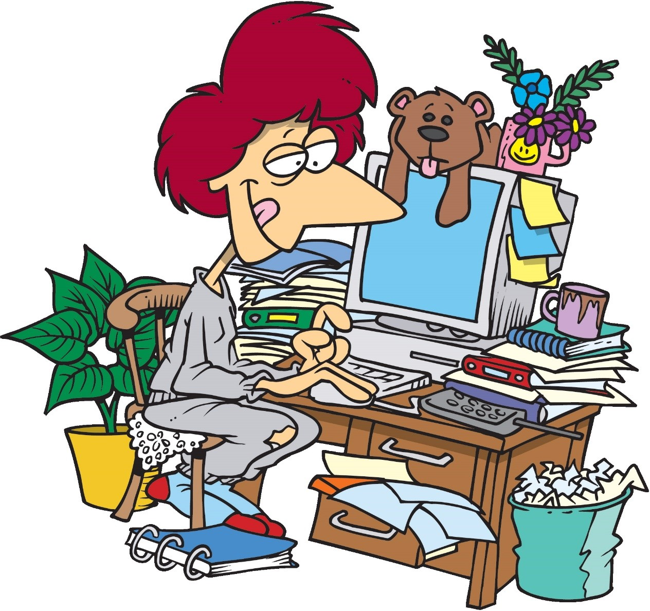 Free Organized Office Cliparts Download Free Clip Art