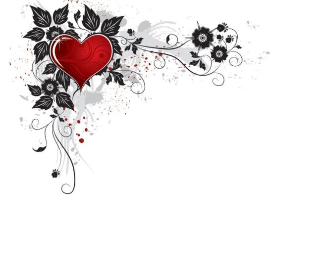 Clip Art Valentines Day Heart Border View All Valentines Border Cliparts  C B Free Valentine