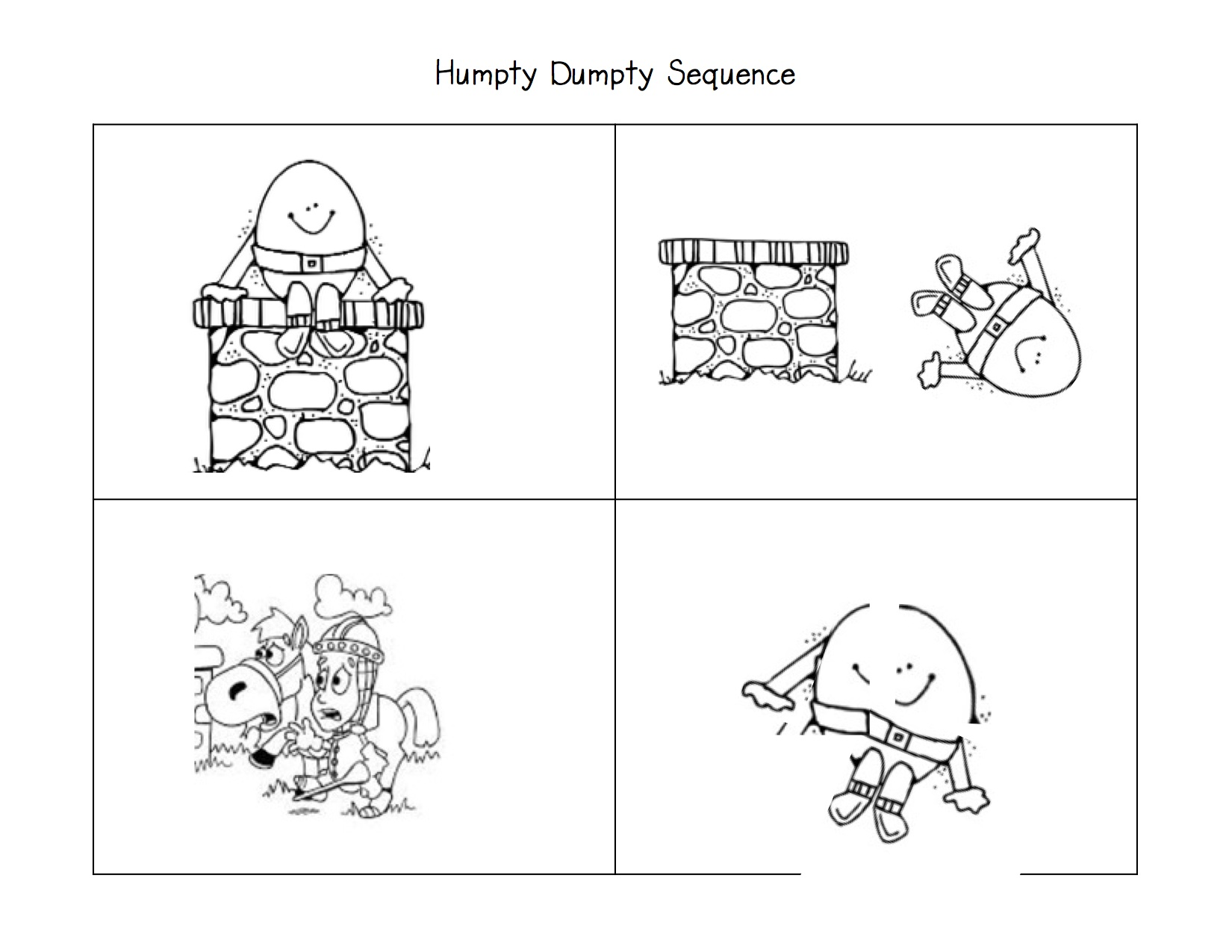 Story Sequence Clipart