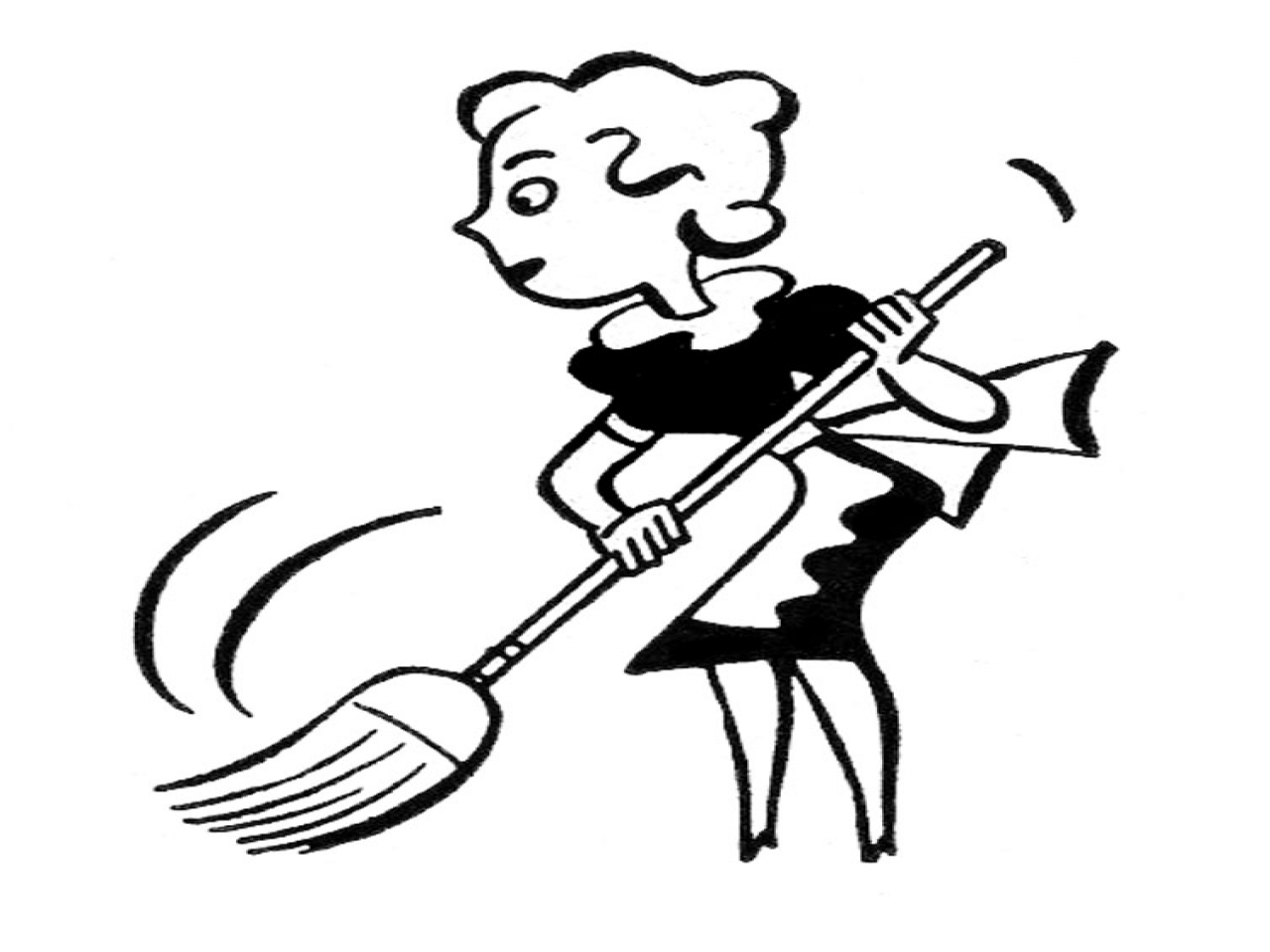 Cleaning Supplies Clip Art Black And White