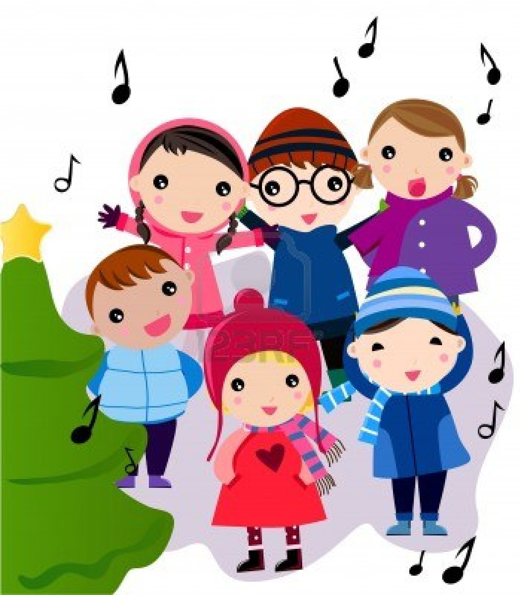 Christmas at school clipart