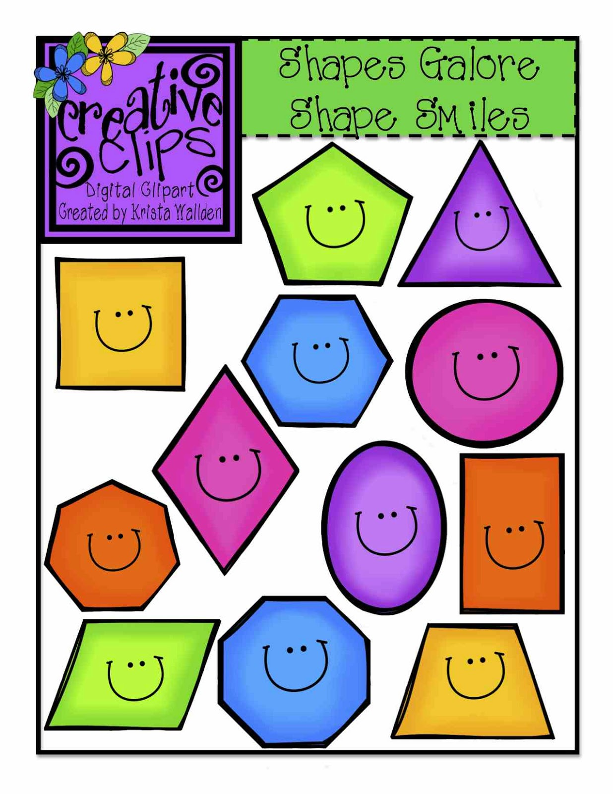 Free Cute Shape Cliparts Download Free Clip Art Free