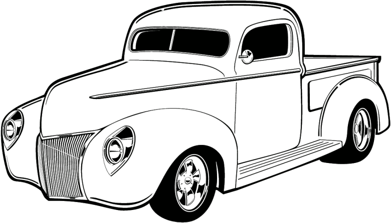 Old Truck Cliparts | Free Download Clip Art | Free Clip Art | on Clipart Library
