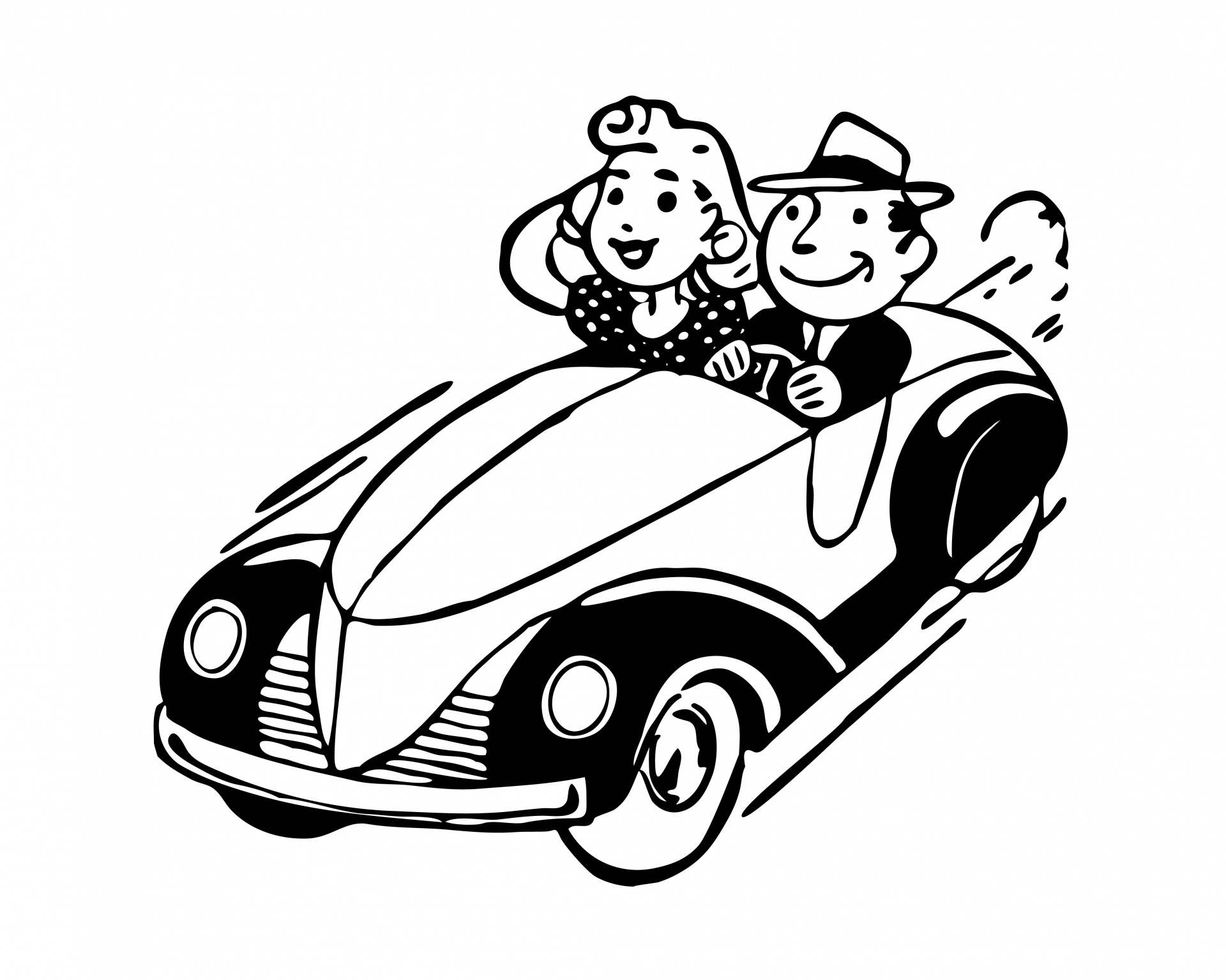 Free Car Couple Cliparts Download Free Clip Art Free