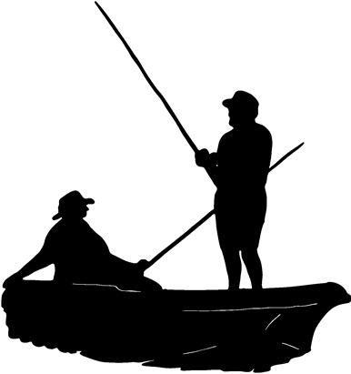 Free Black Fishing Cliparts Download Free Clip Art Free