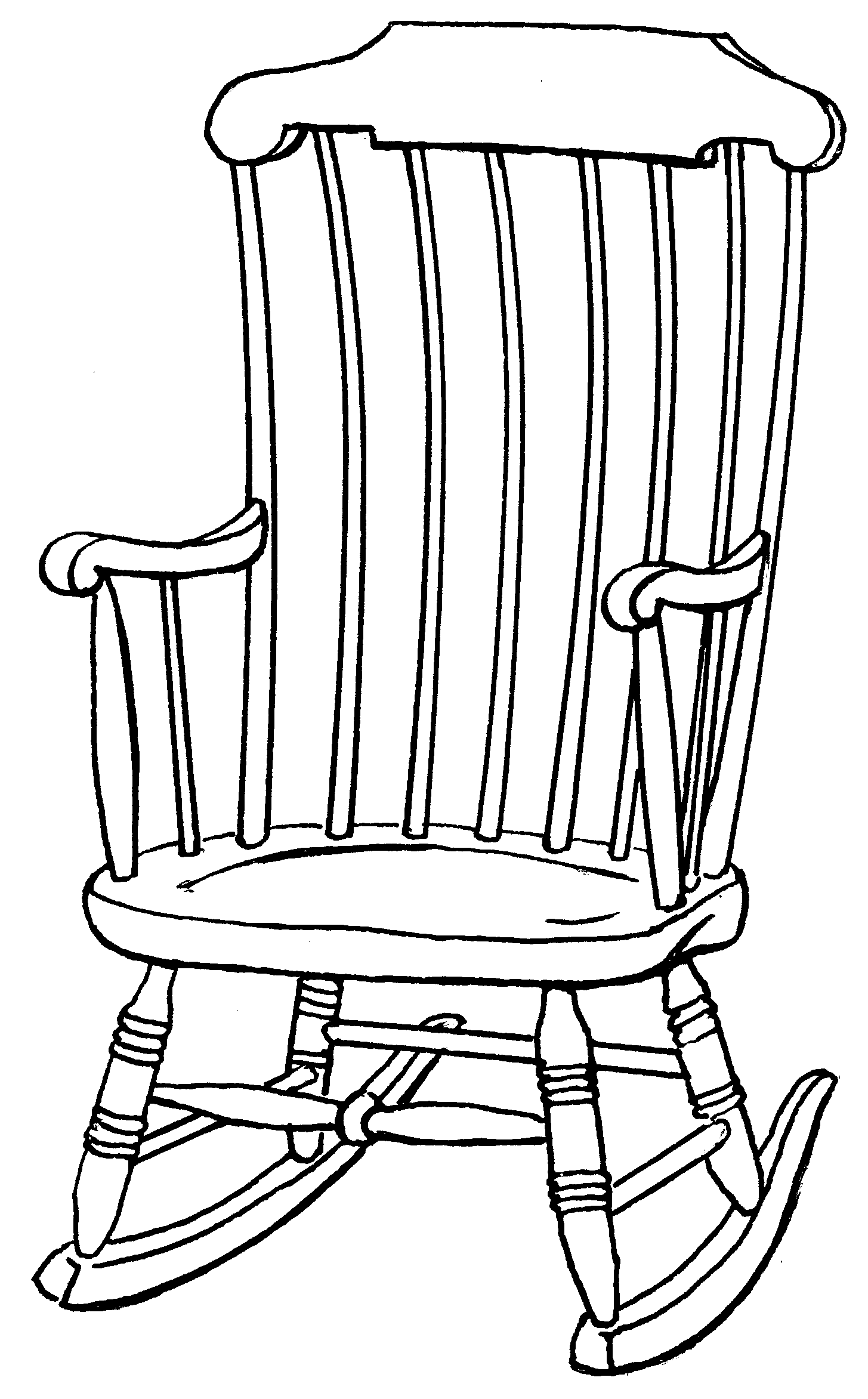 Free Rocking Chair Cliparts Download Free Clip Art Free Clip Art On Clipart Library