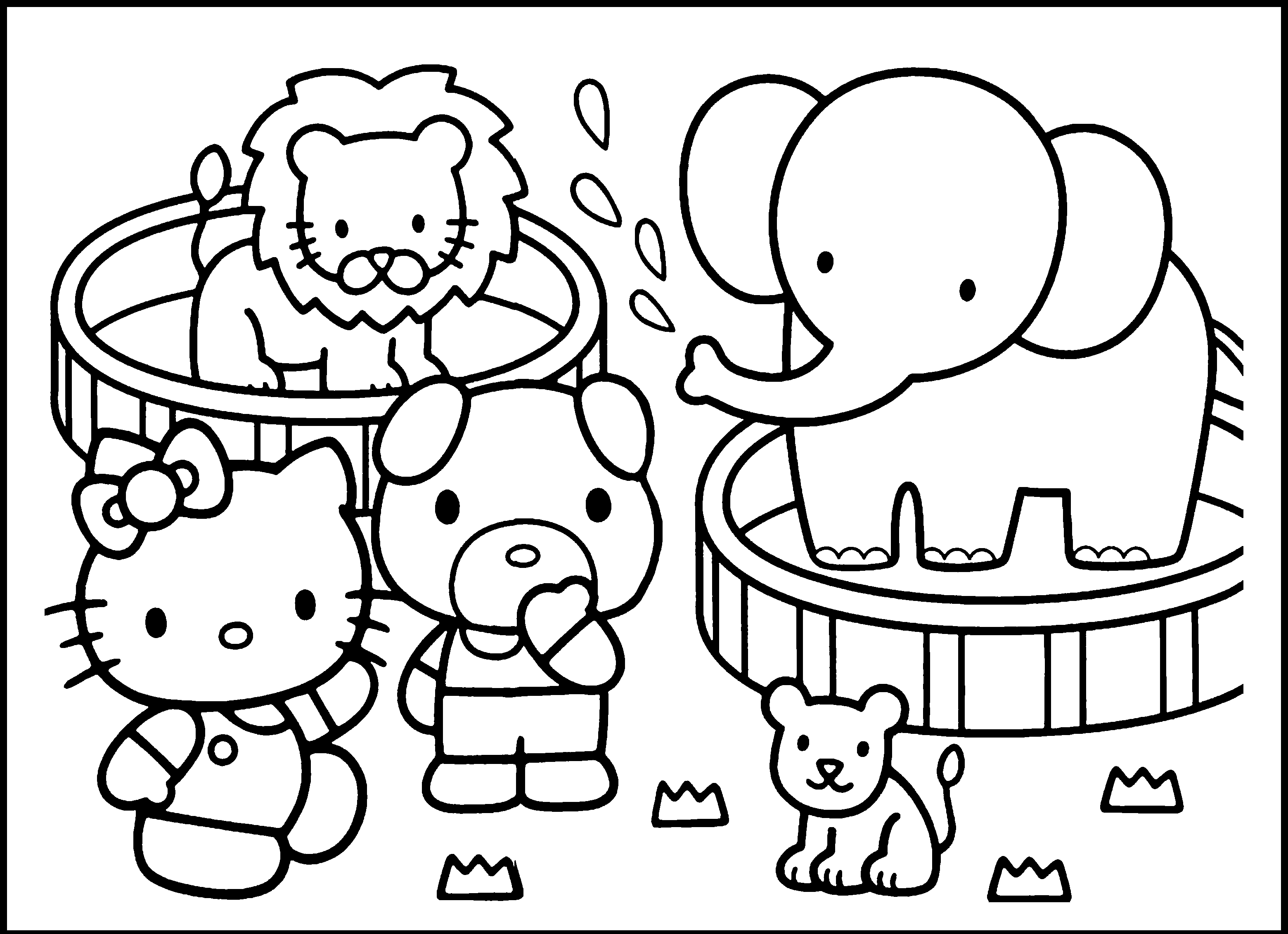 Free Preschool Zoo Cliparts Download Free Clip Art Free