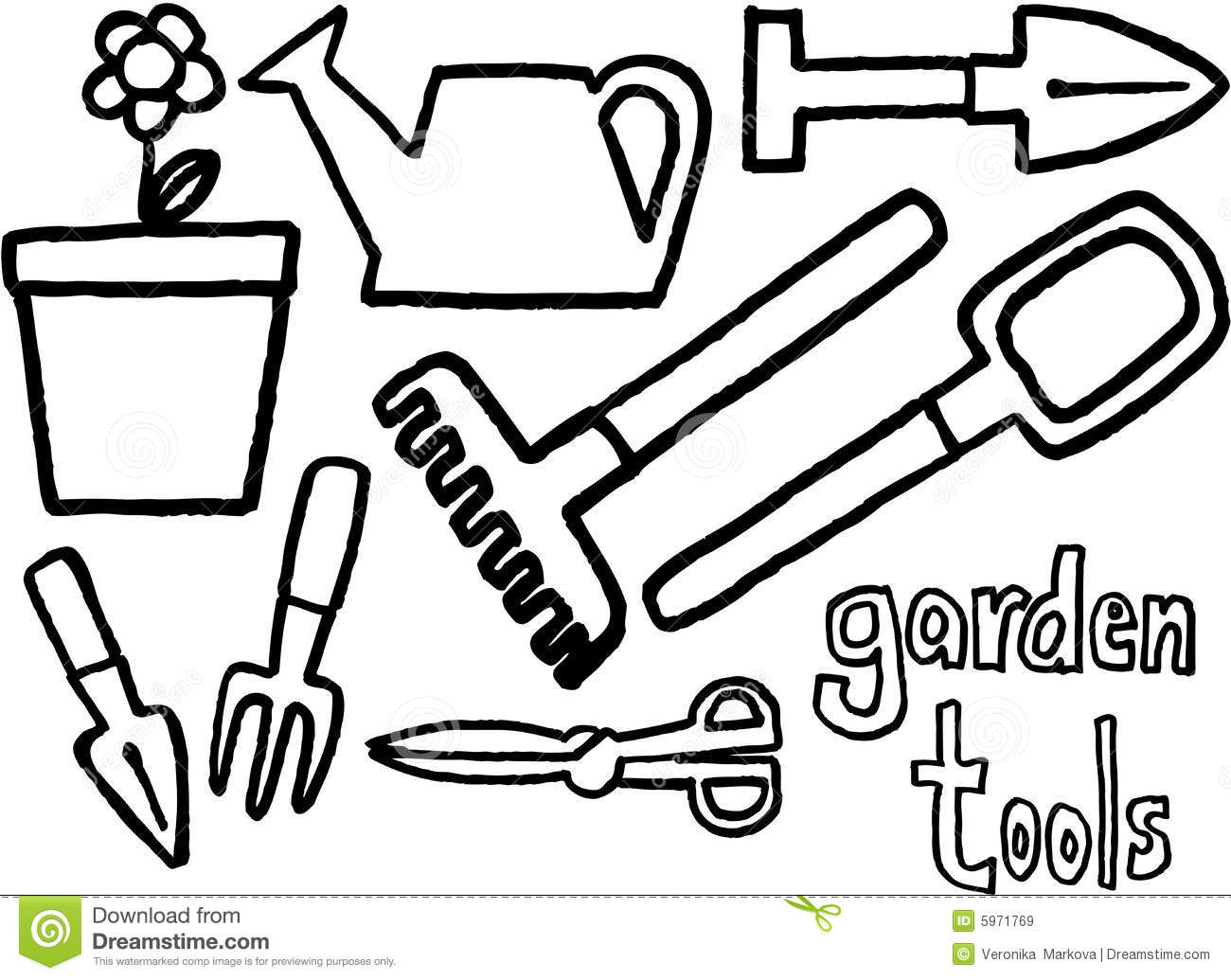 Free Landscape Tools Cliparts Download Free Clip Art