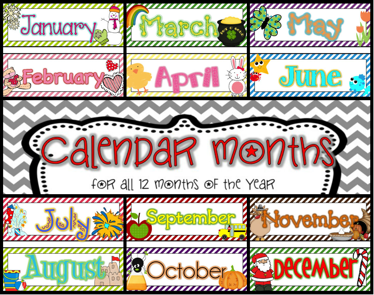 Free Calendar Headings Cliparts Download Free Clip Art