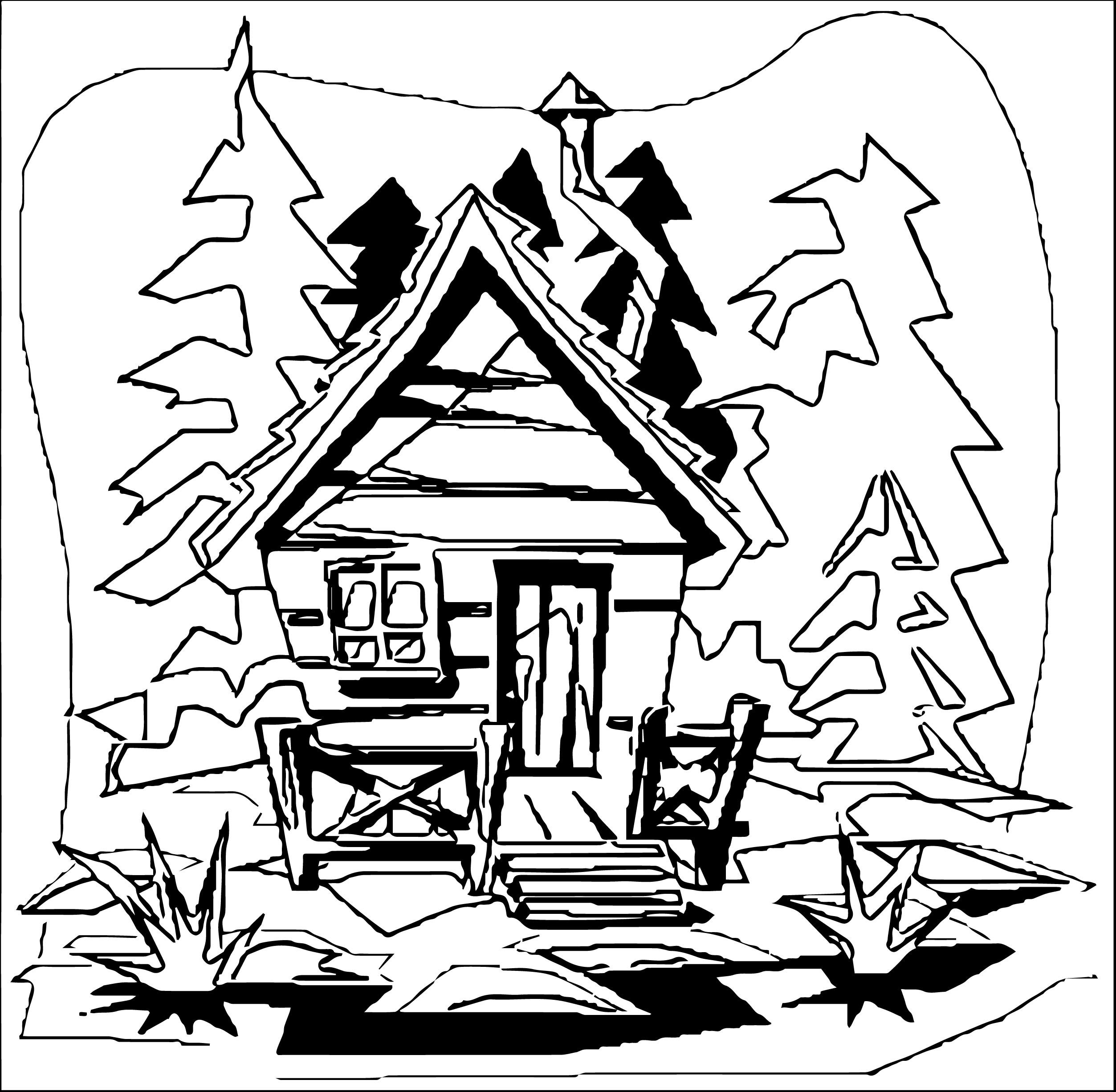 Free Mountain Cabin Cliparts Download Free Clip Art Free