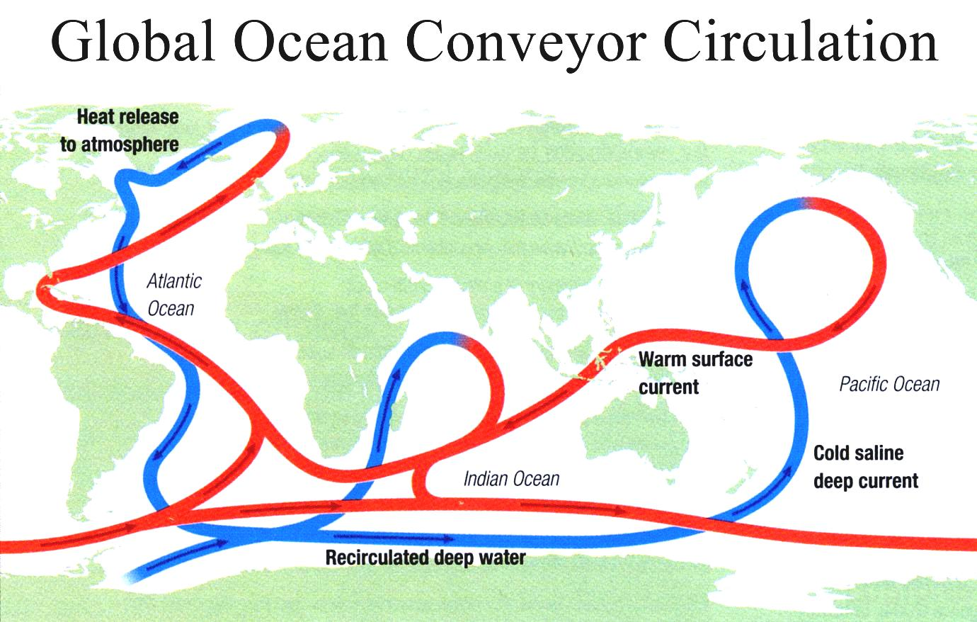 World Map Ocean Currents Topographical With Accurate Done