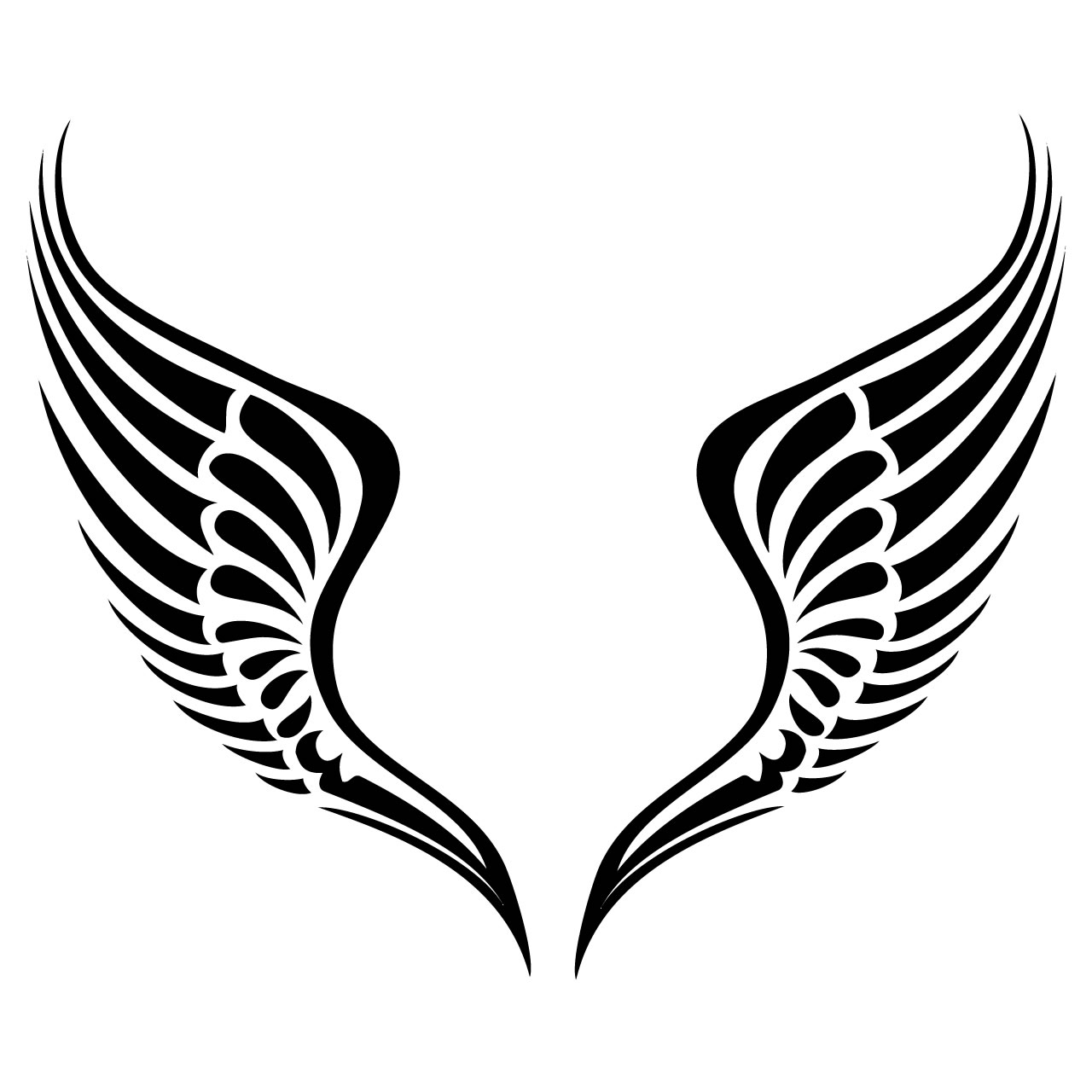 Angel Wings Wing Clip Art Free Vector In Open Office