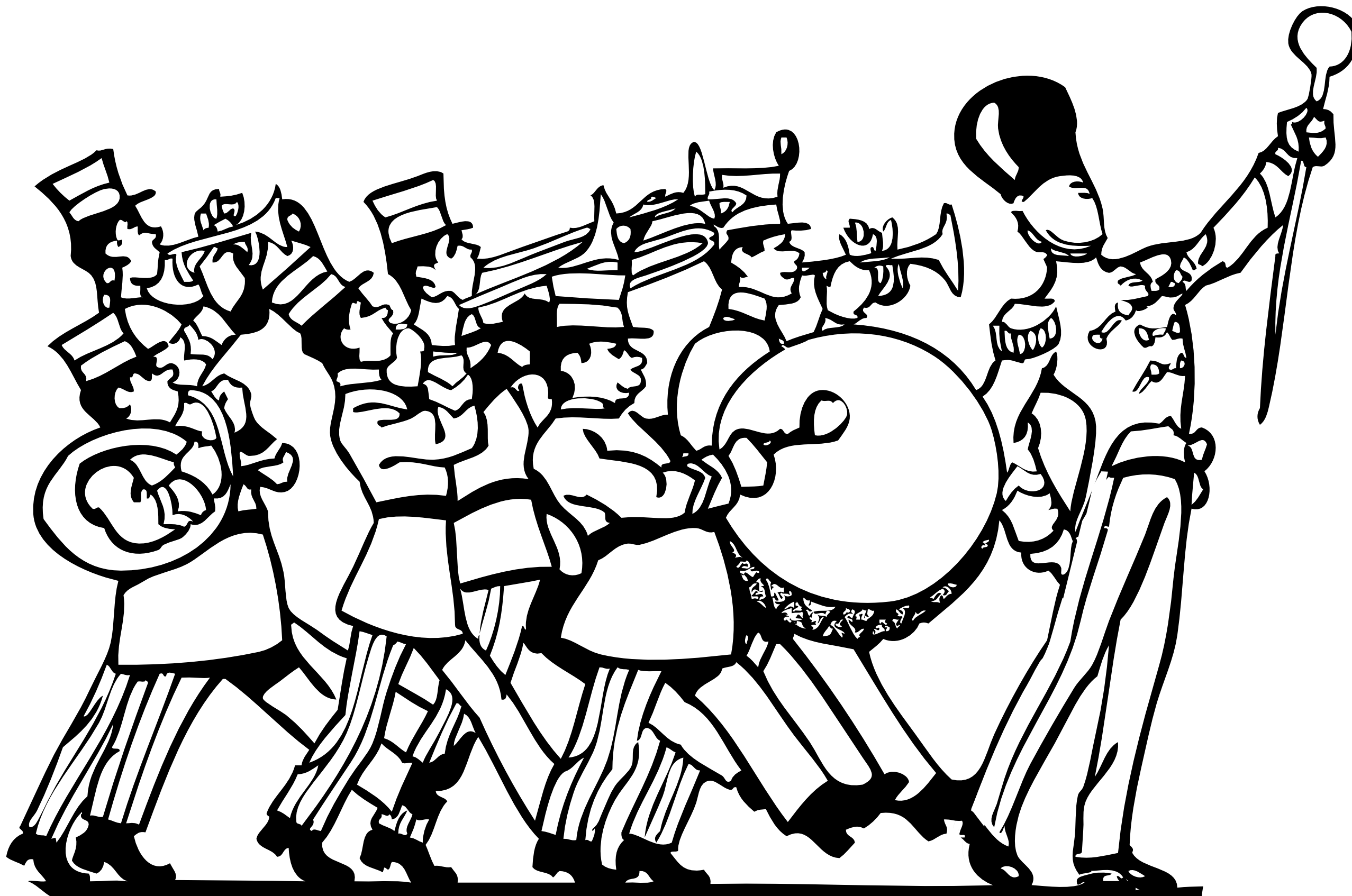 Free Marching Parade Cliparts Download Free Clip Art