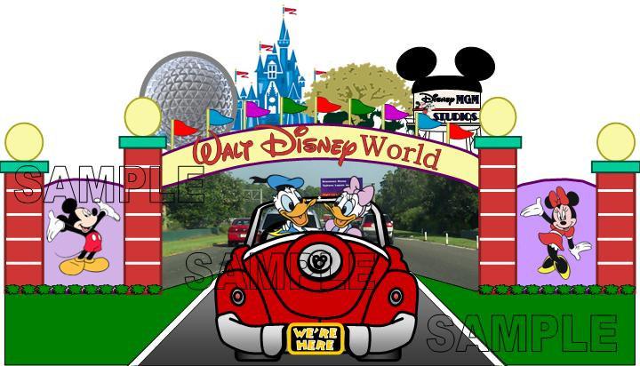 Walt Disney World Logo Clipart Free
