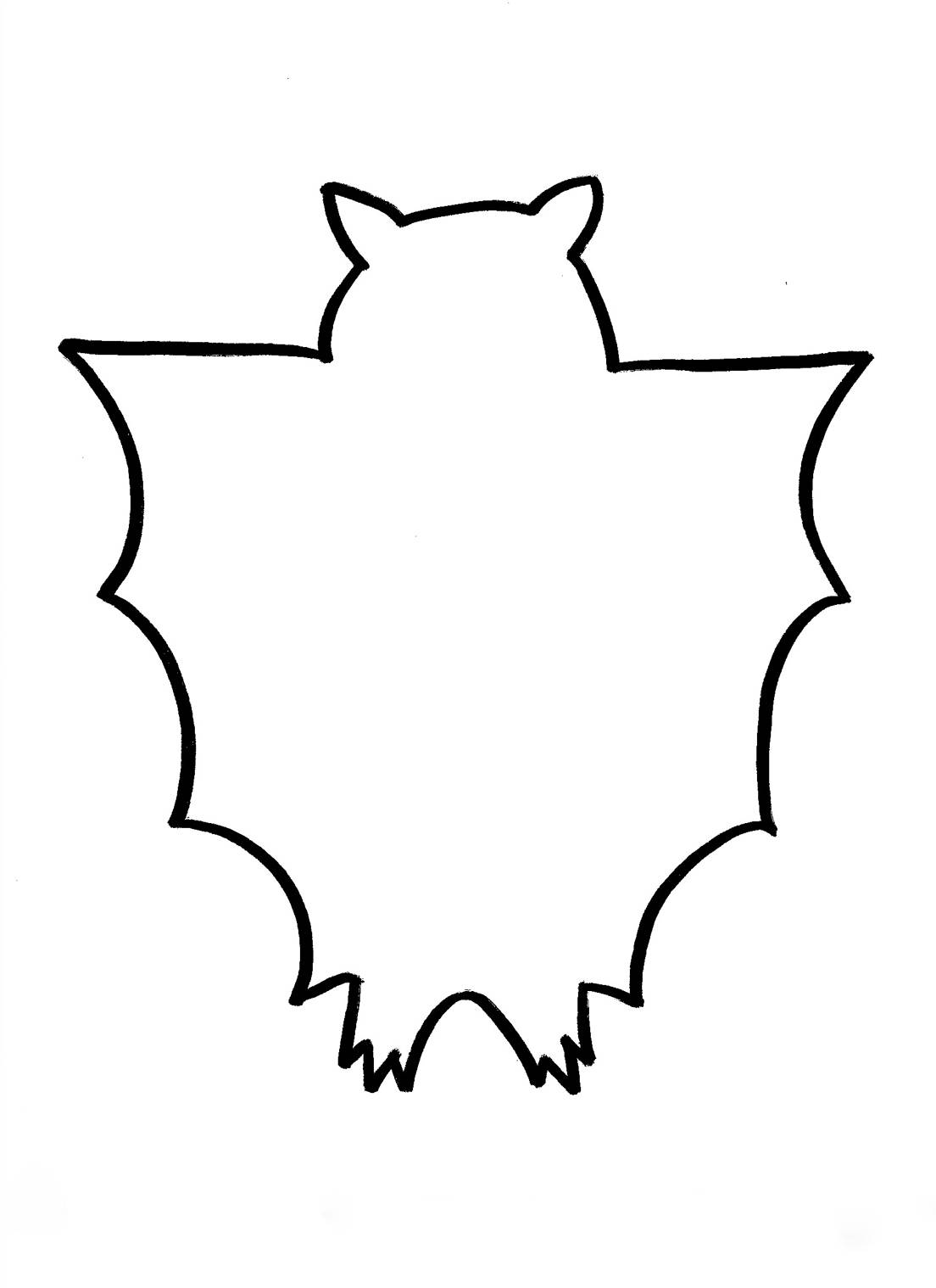 Free Bat Outline Cliparts Download Free Clip Art Free