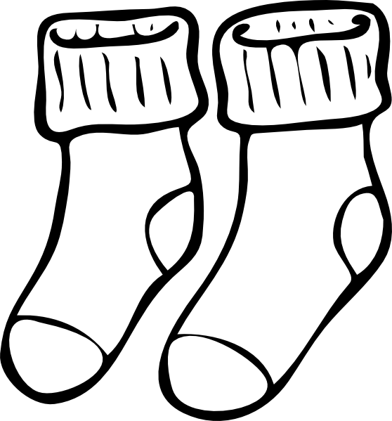 free socks shoes cliparts download free clip art free