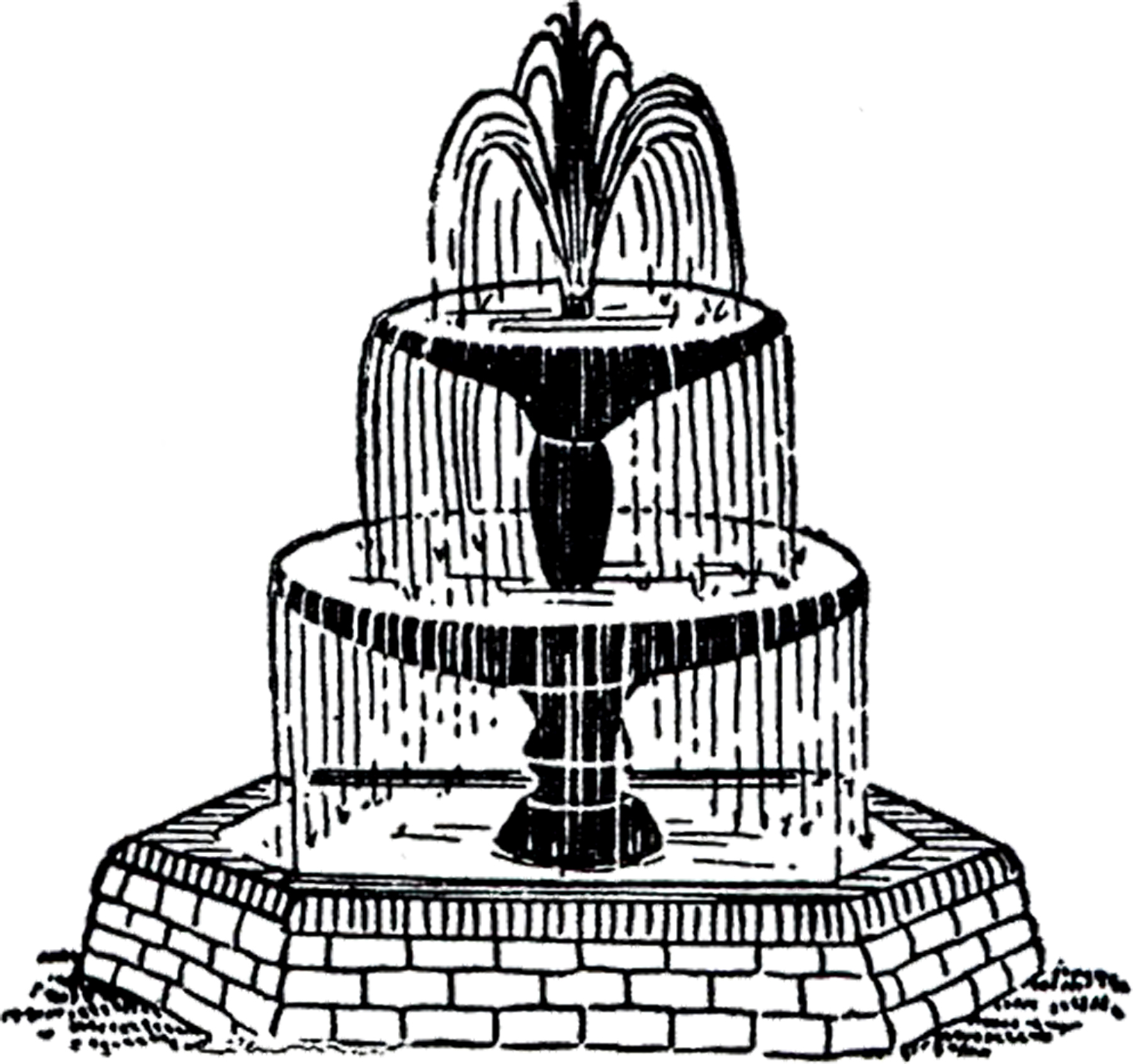 Free Wedding Fountain Cliparts Download Free Clip Art