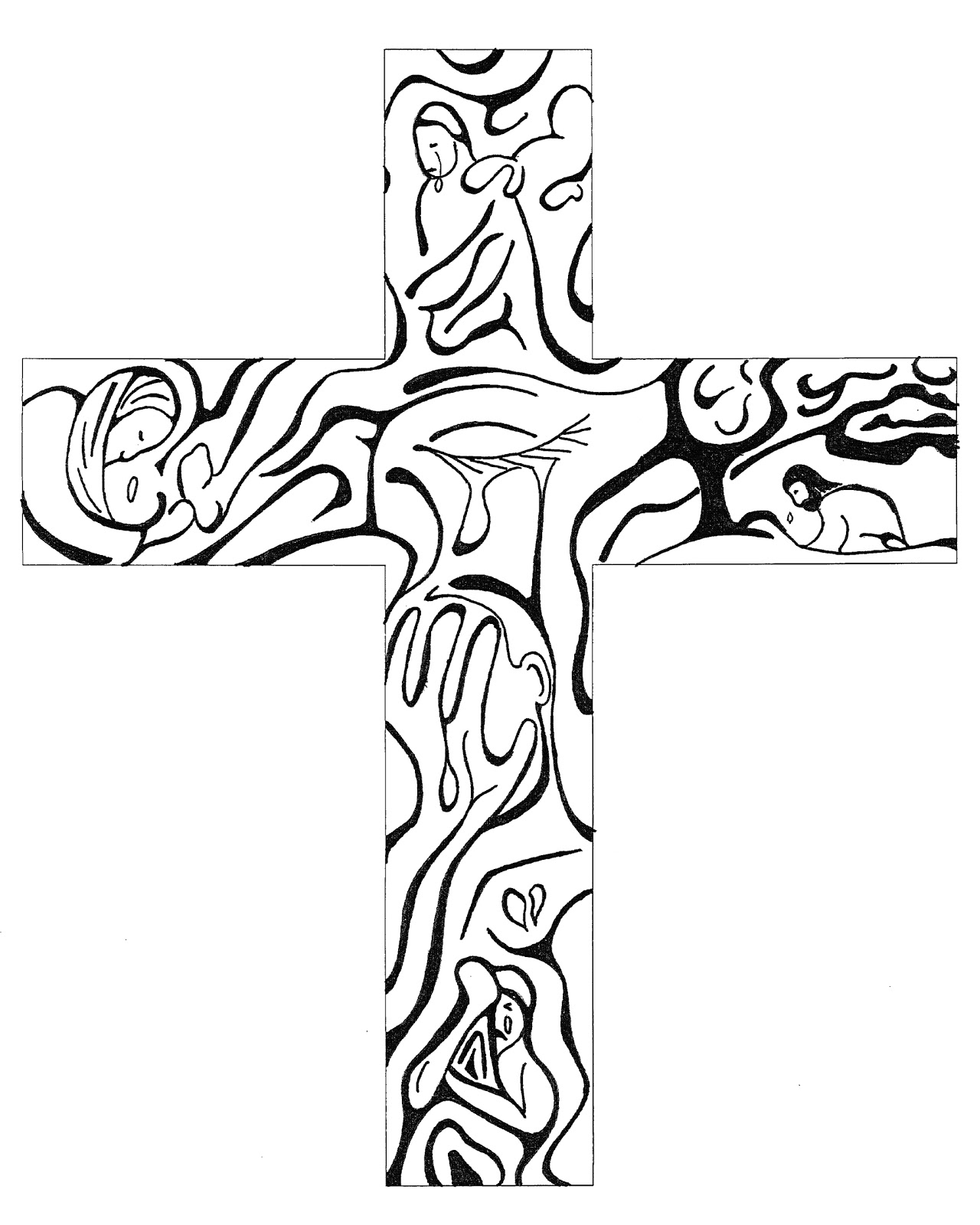 Free Cross Sketch Cliparts Download Free Clip Art Free