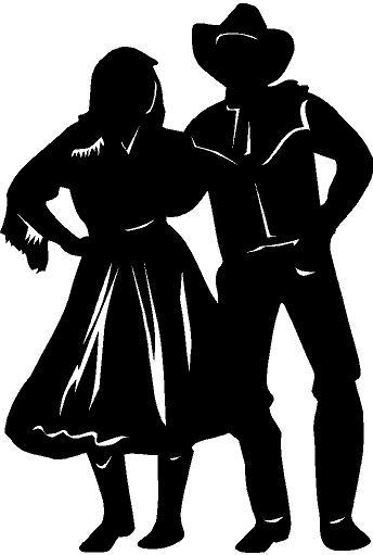 Western Dancing Clip Art