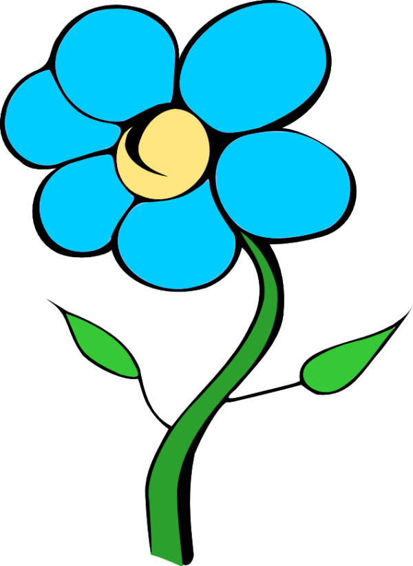 Free Blue Flower Cliparts, Download Free Clip Art, Free ...