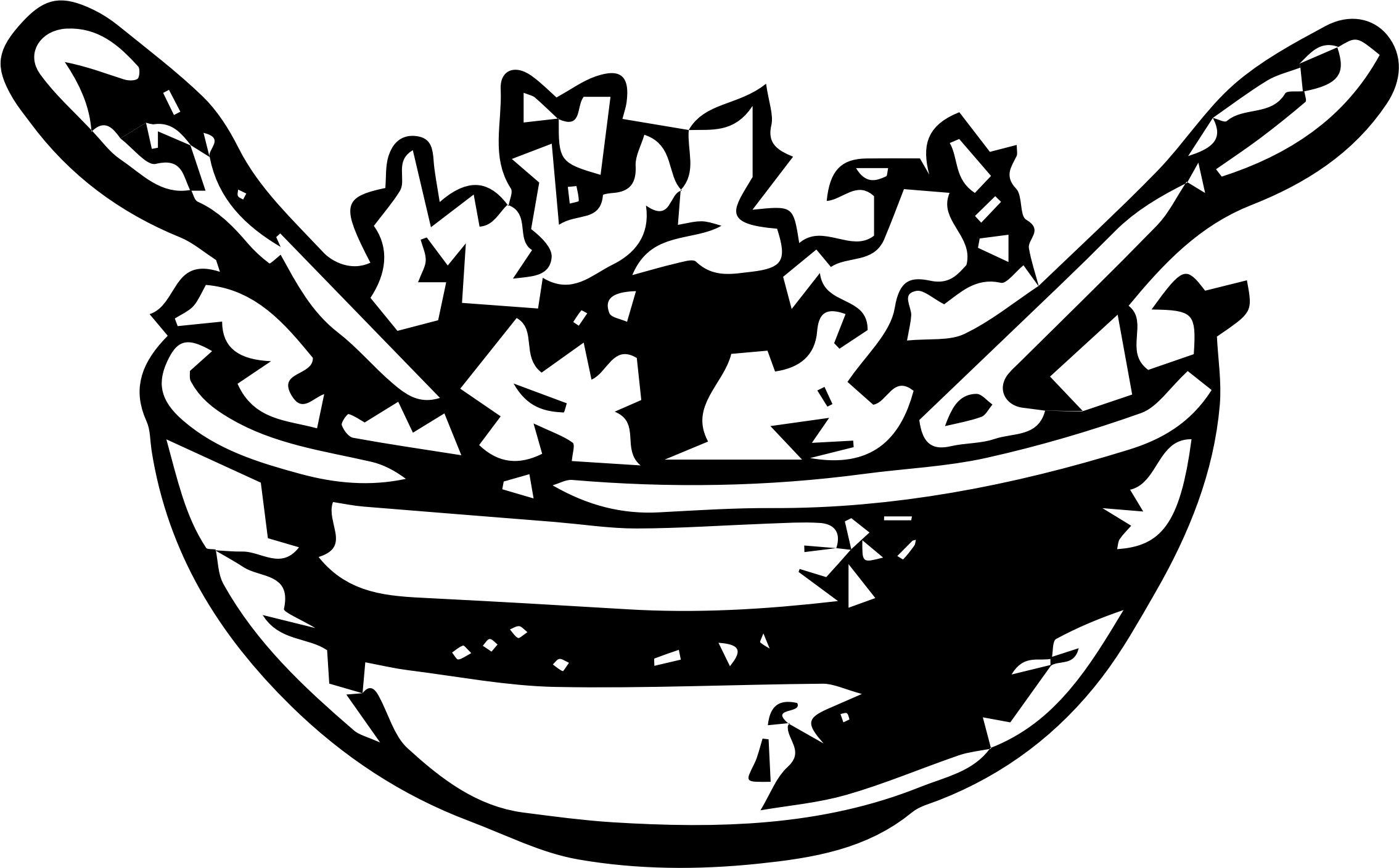 Free Salad Bowl Cliparts Download Free Clip Art Free