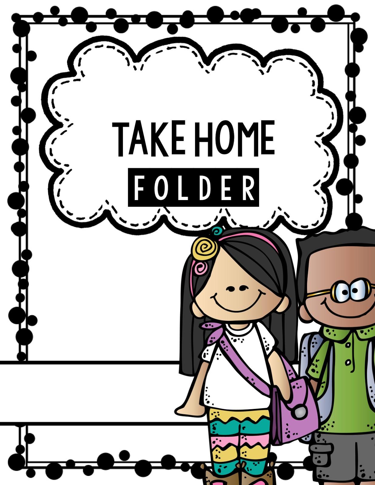 Take Home Folder Clipart