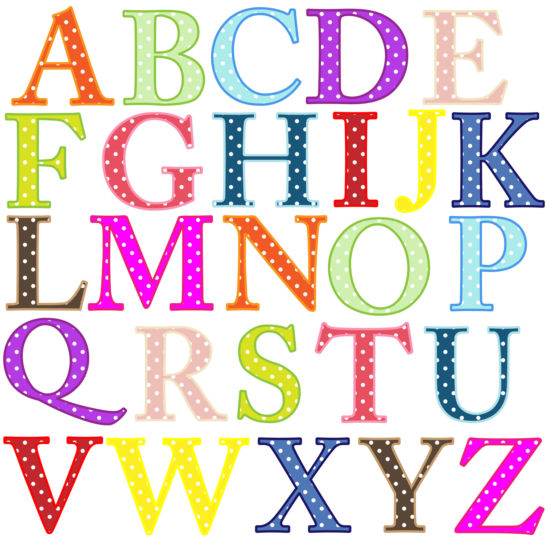 Free Printable Alphabet Cliparts Download Free Clip Art