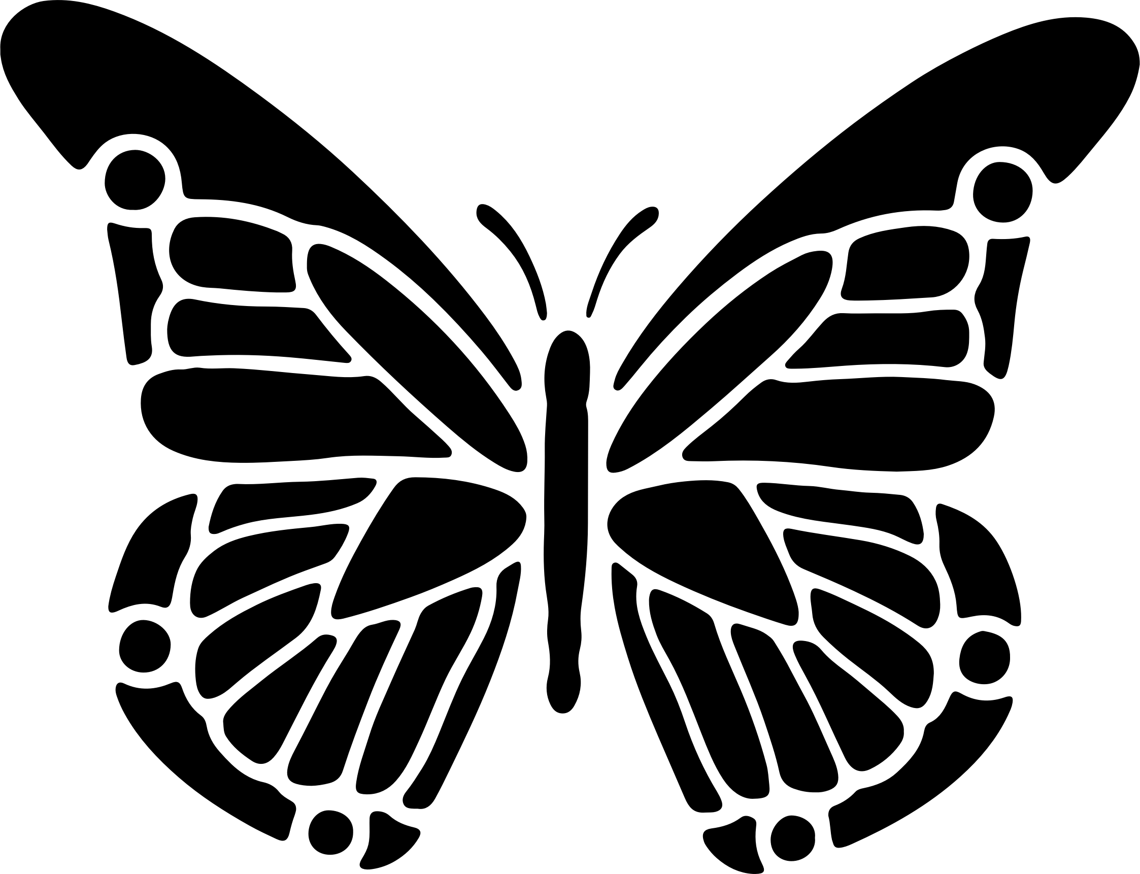 Free Butterfly Cliparts Silhouette Download Free Clip Art